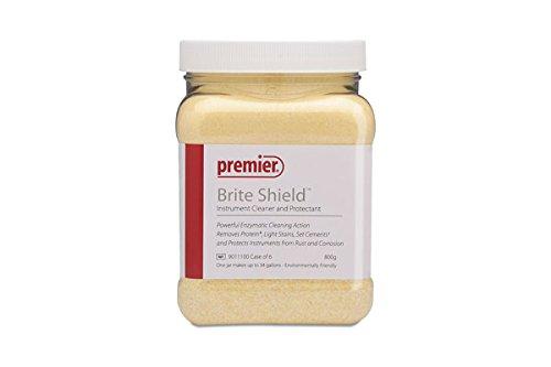 Premier PR-9011100 Brite Shield Instrument Cleaner, 800 G Jar (Pack of 1) by Premier