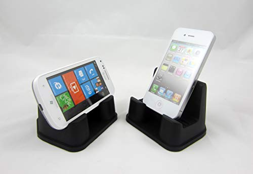 PhoneProp - Universal Fit Soft Flexible SmartPhone Stand - Silicone - COLOR BLACK