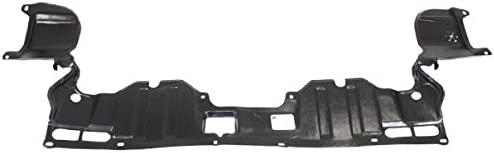 Compatible with 2006-2011 Honda Civic Lower Undercar Engine Shield Mounts to Radiator Support