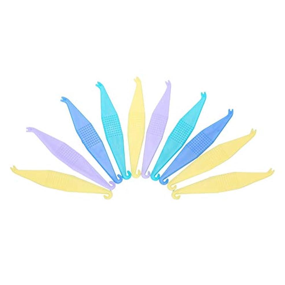 沈黙古代キャッシュTOPINCN 【10個セット】使い捨て矯正用弾性プラスサーズ 歯科用 使い捨て プラスチック製 歯列矯正歯科用プラスター 安全 衛生