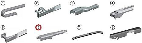 Bosch Aerotwin A929S 3397118929 Limpiaparabrisas 600/475 + 2 x Gelan para limpiaparabrisas, - Set [fop del paquete]: Amazon.es: Coche y moto