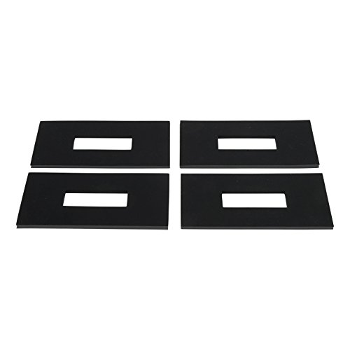 Fifth Wheel Tow Vehicle - CURT 16901 5th Wheel Rail Sound Dampening Pads