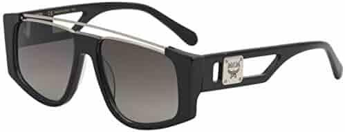 8a006a1024 MCM Women s Sunglasses MCM670S MCM 670 S 001 Black Fashion Pilot Sunglasses  55mm
