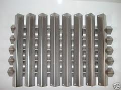 Weber BBQ Grill Flavorizer  Bars Stainless Steel 8pcs-16'' 5pcs-23-3/8'' by Chim Cap Corp.