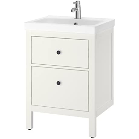 Ikea Sink Cabinet With 2 Drawers White 23 5 8x19 1 4x35