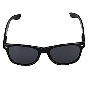 Zimo Hot Fashion 80s Retro Vintage Trendy Cool Causal Black Frame Sunglasses Men