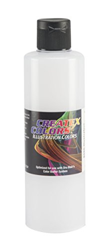- Createx Colors Illustration Base Paint for Airbrush, 8 oz, Transparent