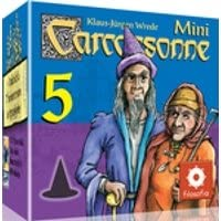 Mini Carcassonne 5 - Mago y Bruja: Amazon.es: Juguetes y juegos