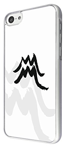 817 - Cool Fun aquarius sign Design iphone 5C Coque Fashion Trend Case Coque Protection Cover plastique et métal