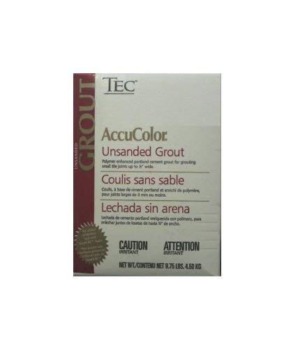 Tec AccuColor Premium Unsanded Grout 9 75 lb (Various Colors) (Bright White  #910)