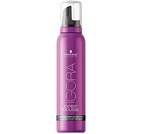 Schwarzkopf Professional Igora Expert Mousse Semi Perm, Espuma de Color 3.0-300 ml: Amazon.es: Belleza