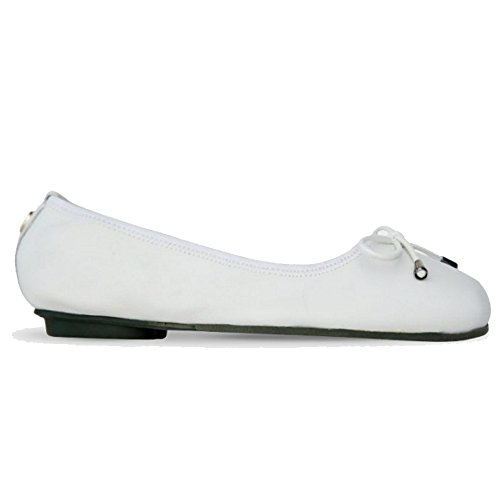 Morena Foldable Square Quitta Morena Women's White Toe zwdpn8