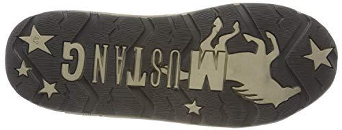 Rosso Mustang Donna Sneaker Schnürhalbschuh bordeaux 55 qxwO4Pwg