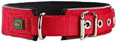 Hunter Collar de Neopreno Reflectante, para Perros, Rojo (Rojo ...