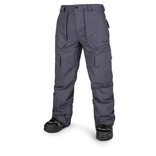 (Volcom Men's Eastern Insulated Snow Pant, Vintage Navy, Medium)
