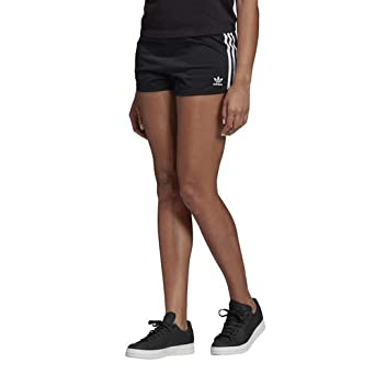 3fcb4a5c12b2 adidas Originals Women's 3-Stripes Shorts at Amazon Women's Clothing ...