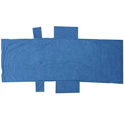 Kongqiabona 210x73cm Lounger Mate Beach Towel Microfiber Double Layers Sunbath Lounger Bed Holiday Garden Beach Chair Cover Towels