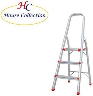 M.Cannarozzi HSC0081 - Escalera de 4 peldaños, Aluminio, Color ...