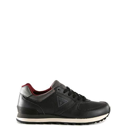 pelle black Fmcha4lea12 nero da uomo Sneakers Guess in Ovq7nTa