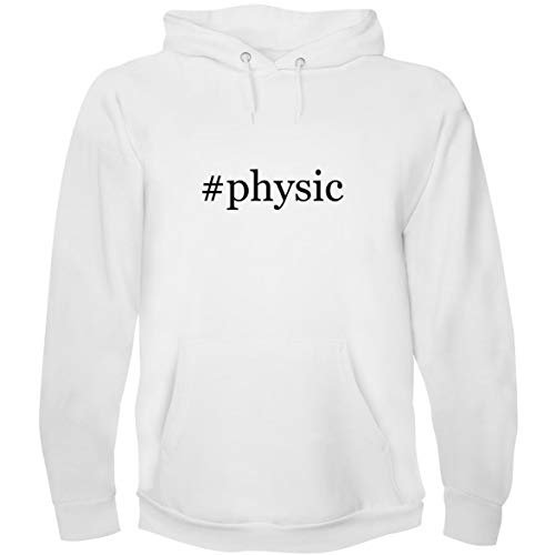 The Town Butler #Physic - Men's Hoodie Sweatshirt, White, X-Large