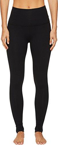Beyond Yoga Women's Core High Waisted Midi Leggings, Jet Black, X-Small (Rubber Leggings)