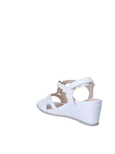 Iii Scarpe Cinturino Donna Bianco Con 8 Alla Stonefly Caviglia Patent Sweet HAwx55q4