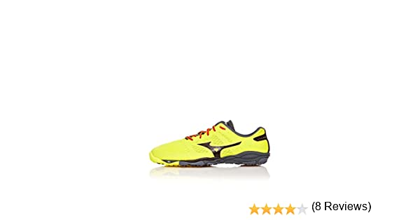 Mizuno Zapatillas Running Wave EVO Ferus Amarillo/Negro EU 44.5 (UK 10): Amazon.es: Zapatos y complementos