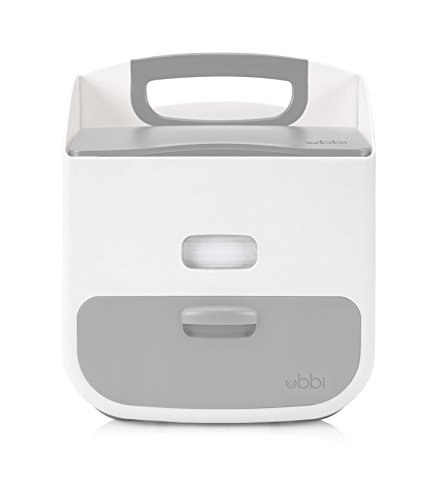 Ubbi Baby Wipes Dispenser with Weighted Plate, Gray by Ubbi (Image #4)
