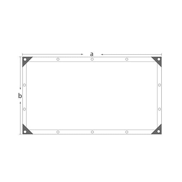 Giow - Telo protettivo per protezione solare in polietilene resistente all'abrasione, per balcone, 22 misure (colore… 3 spesavip