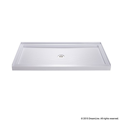 single threshold shower base center drain dlt1132600 - Shower Bases