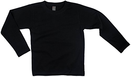 Earth Elements Little Kids'/Toddlers' Long Sleeve T-Shirt 2T Black