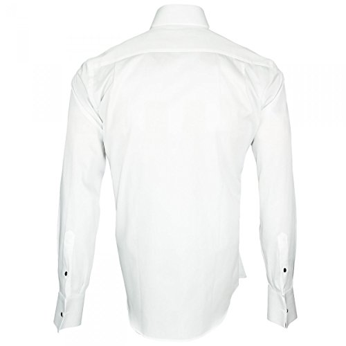 Chemise Blanc Mc Allister Col Casse Gentleman Andrew vUHOxqE