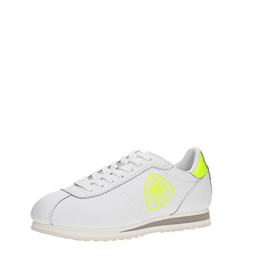 Blauer USA 7SWOBOWLING/LEA Sneakers Mujer Yellow/White