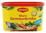 Maggi Clear Vegetables Broth (Klare Gemusebruhe) -for 18 L