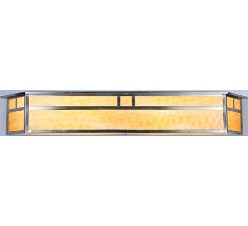 Meyda Tiffany 106393 Hyde Park Double Bar Mission Vanity Light Fixture, 38
