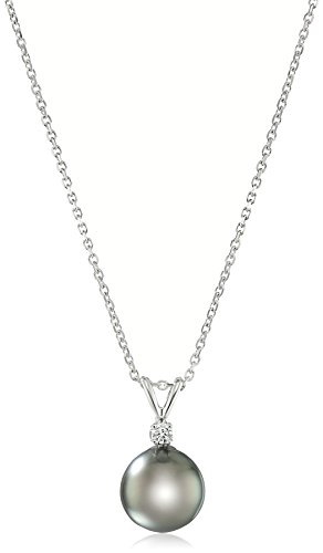 AA Quality Tahitian Cultured Diamond Necklace