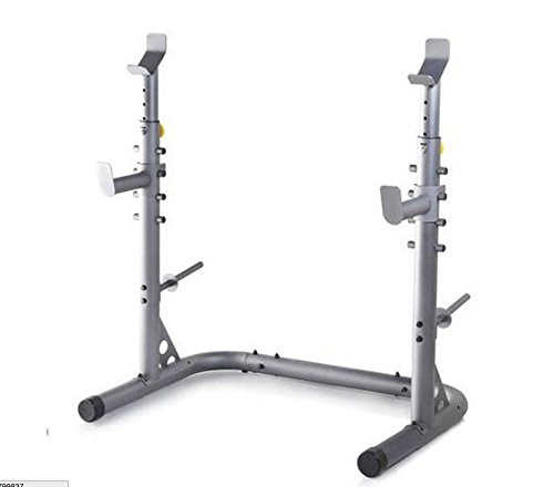 Olympic Power Lifting Rack Strength Weight Stand Squat Bench Curl Pull Up Cage by wang tong shop