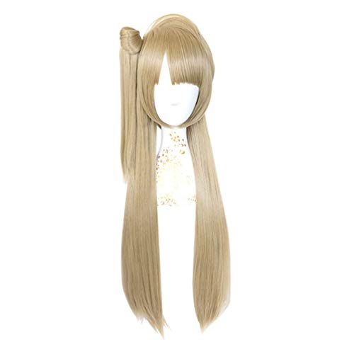 Long Straight Wig None Lace Heat Resistant Fiber LoveLive! (Kotori Minami) Anime Rose Net Cheap Synthetic Wigs Ombre Linen Color 32inch Daily Dress Cosplay Party Carnival