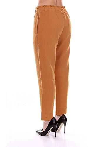 Pomandère Donna Arancione Pantaloni 181712320610darkorange Cotone rr5xpa7