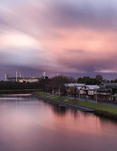 Notebook: Yarra River Melbourne Australia Australian (Melbourne Outdoor Fabric)