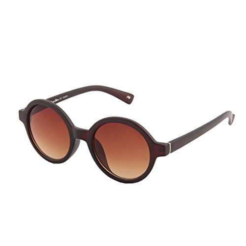 Funky Boys Round Sunglasses (Brown)(SOC-FB-3040-C2)