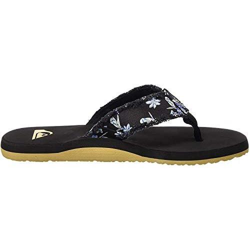 chollos oferta descuentos barato Quiksilver Monkey Abyss Zapatos de Playa y Piscina para Hombre Negro Black White Black Xkwk 42 EU