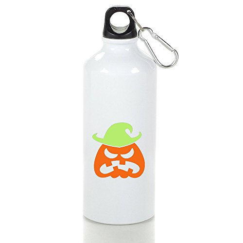 [SUNpp Angry Halloween Scarecrow Aluminum Sports Water Bottle] (Cute Scarecrow Costumes)