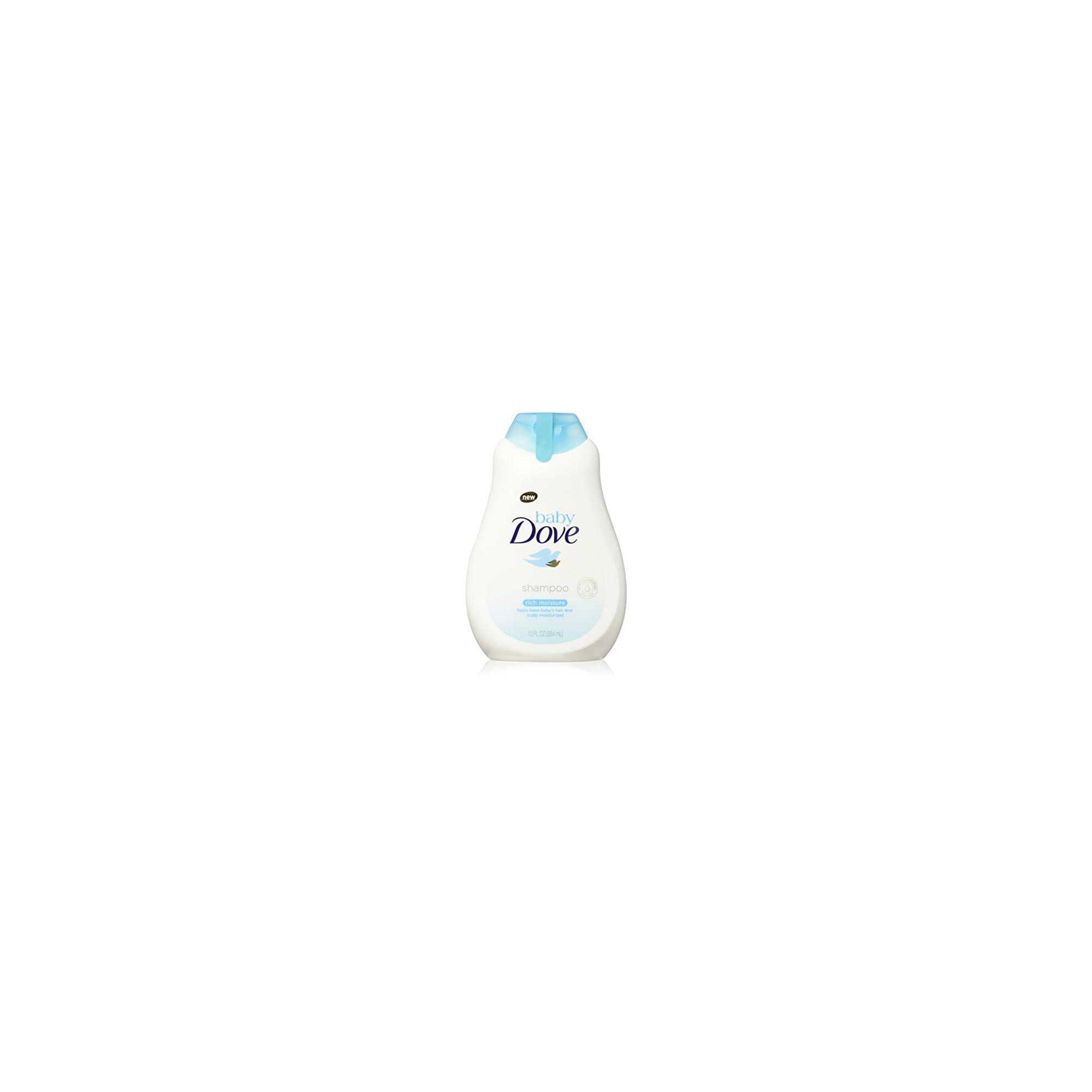 Baby Dove Tear Free Baby Shampoo Rich Moisture 13 oz, 3 count