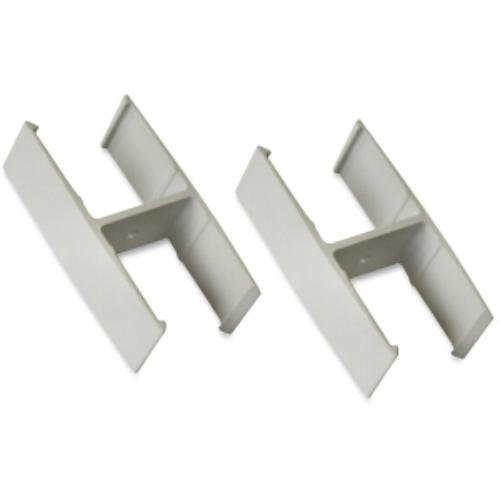 Lorell Straight Panel Connectors, Gray