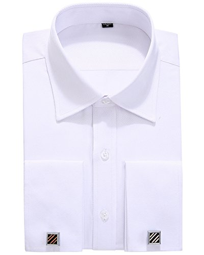 dress shirts slim fit french cuff - 8