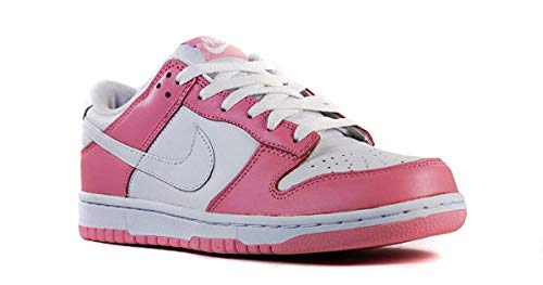 Nike Dunk Womens Low (Real Pink   White) 309324 613 Leather Size 11.5 - Buy  Online in KSA. Shoes products in Saudi Arabia. See Prices 04682befb
