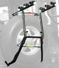 Allen Action Rack 303DB Spare TIRE Deluxe 3 Bike Review