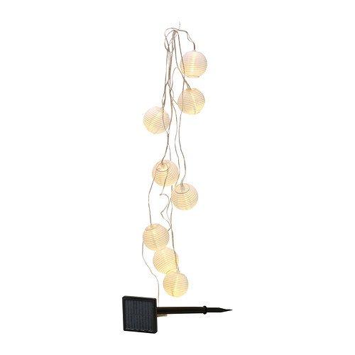 Ikea Solarlichterkette Solvinden Lichterkette Mit 8 Kleinen