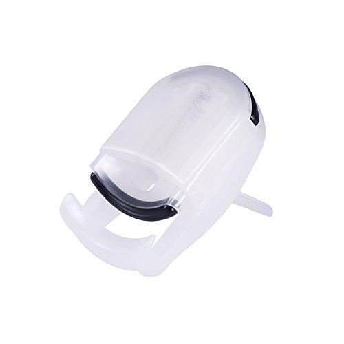 Eyelash Curler, Davocy Best Plastic Eyelash Curler,Mini Cute Travel Eyelash Curler,White